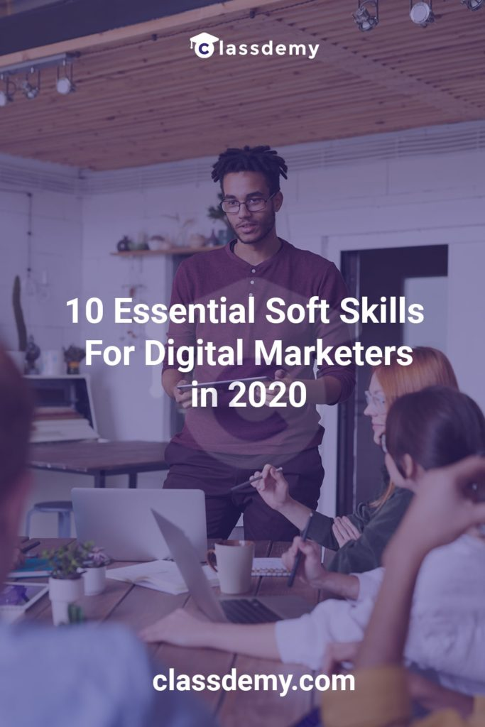 Soft Skills for Digital Marketers