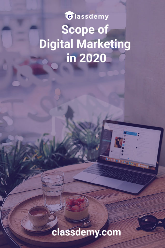 Scope of Digital Marketing in 2020